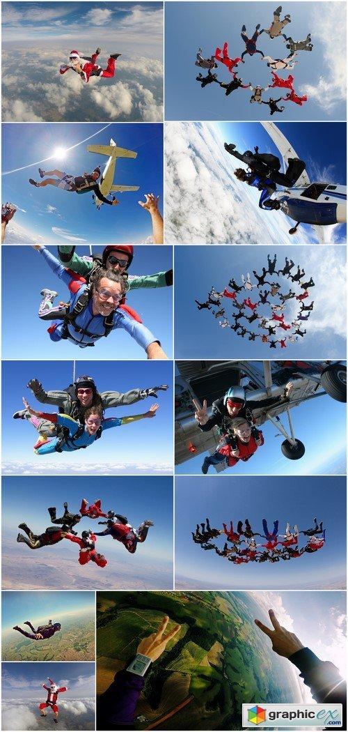 Skydiving 13X JPEG