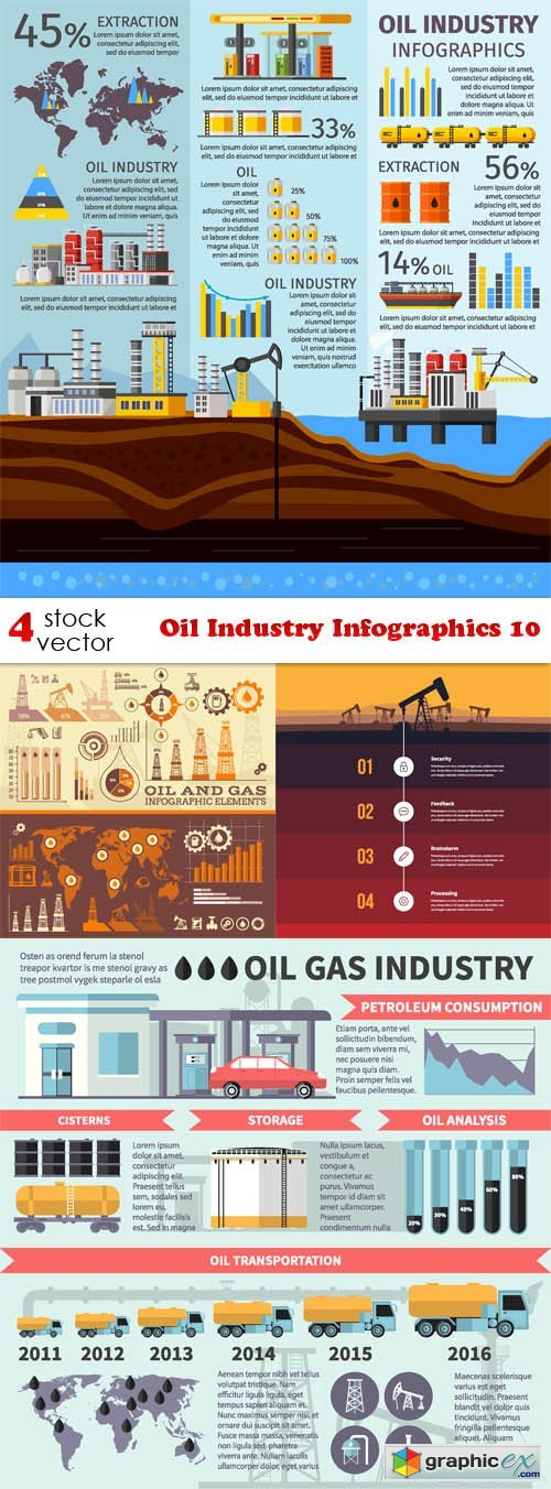 Oil Industry Infographics 10