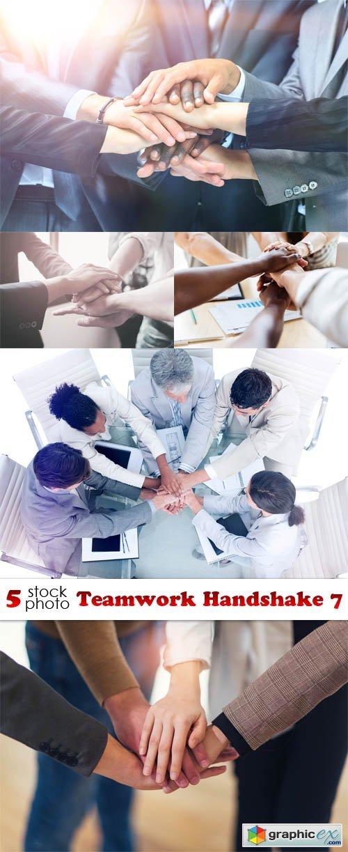 Teamwork Handshake 7
