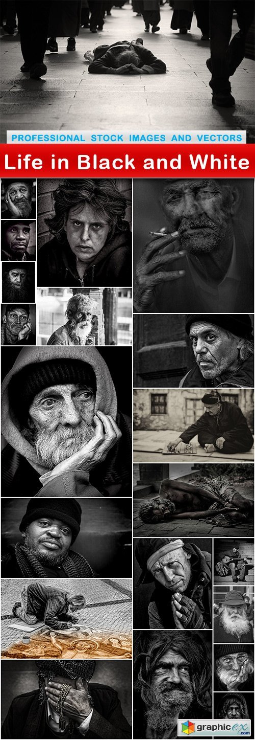 Life in Black and White - 21 UHQ JPEG