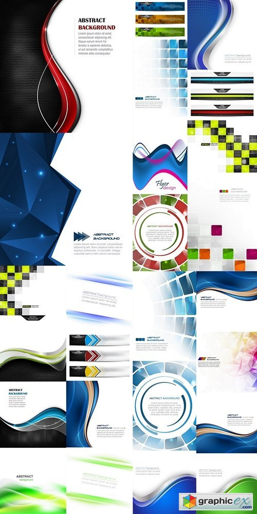 Abstract vector background 4