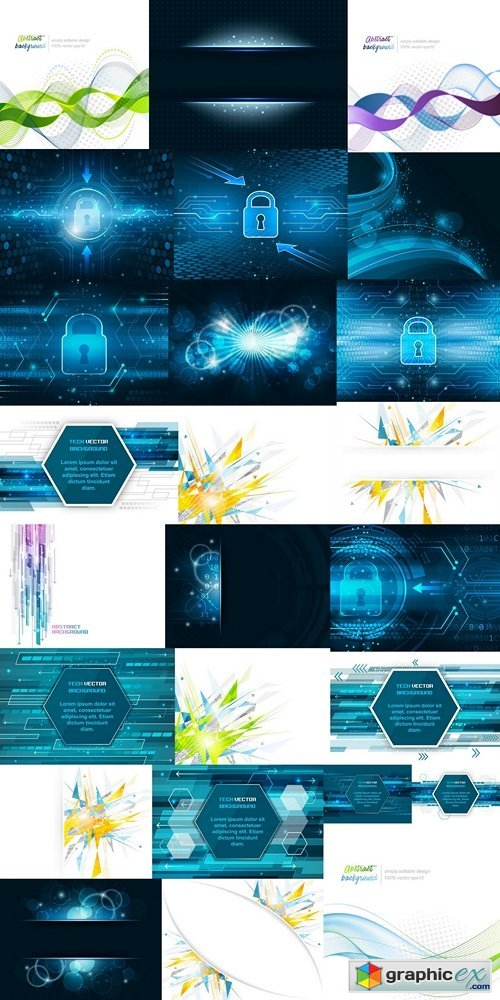 Abstract vector background 6