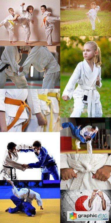 Judo Sport - 10 x JPEGs