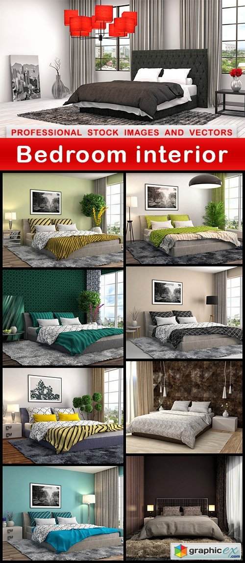 Bedroom interior - 9 UHQ JPEG