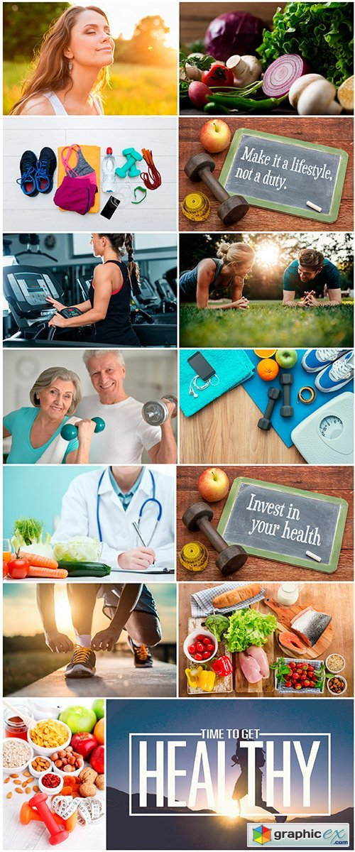 Healthy lifestyle - 14UHQ JPEG