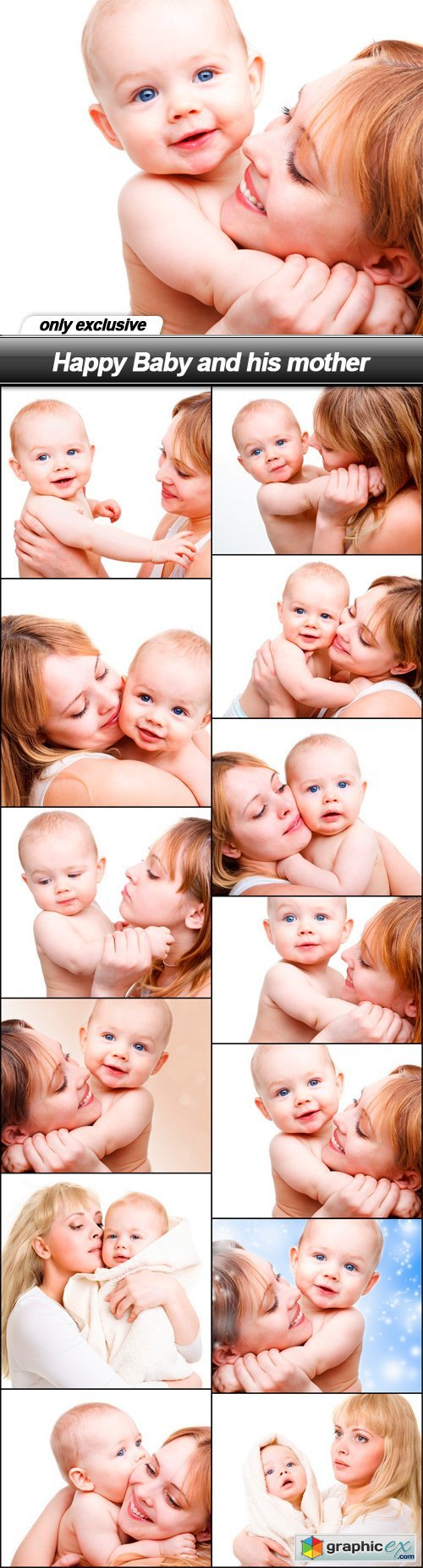 Happy Baby and his mother - 13 UHQ JPEG