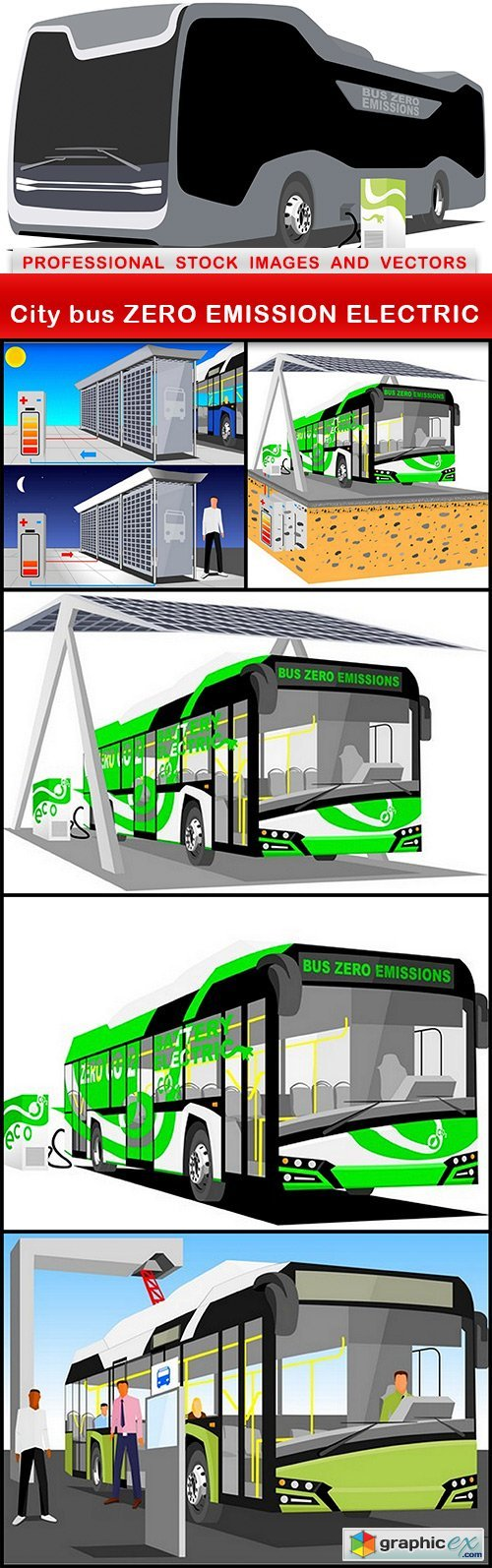 City bus ZERO EMISSION ELECTRIC - 6 EPS