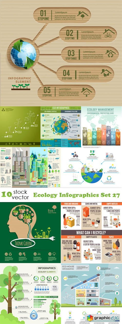 Ecology Infographics Set 27