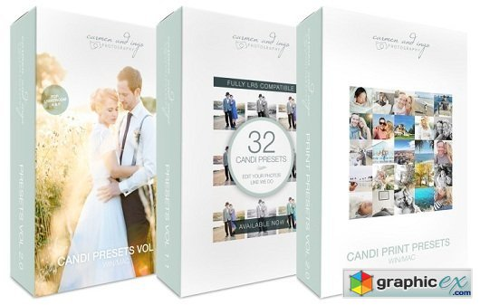 All in One Presets Pack - Candi WEDDING Presets Collection