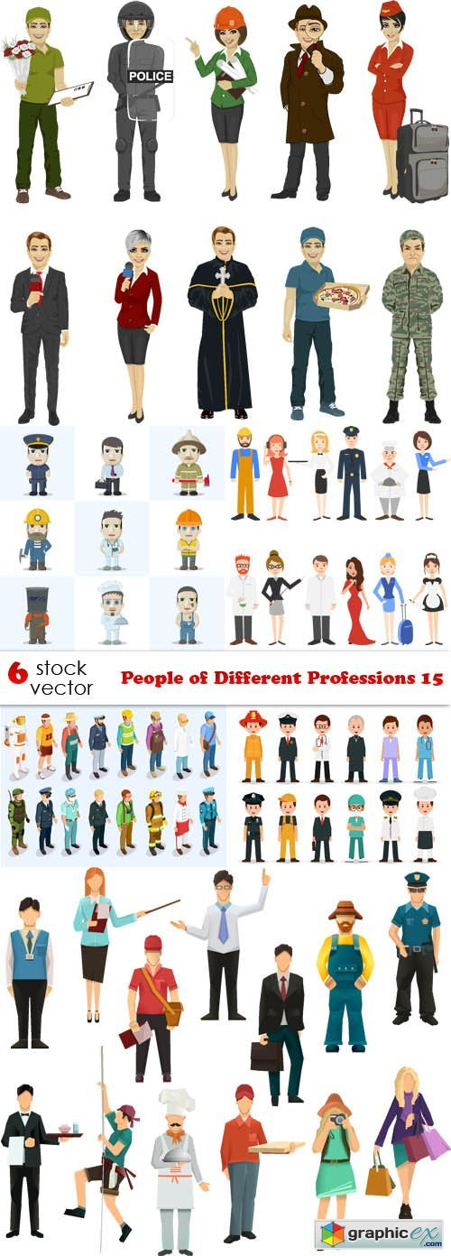 People of Different Professions 15