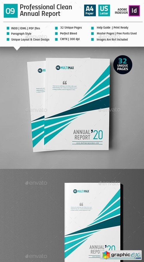 Clean Annual Report Template_V9