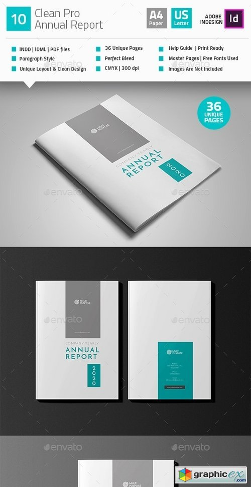 Clean Annual Report Brochure V10