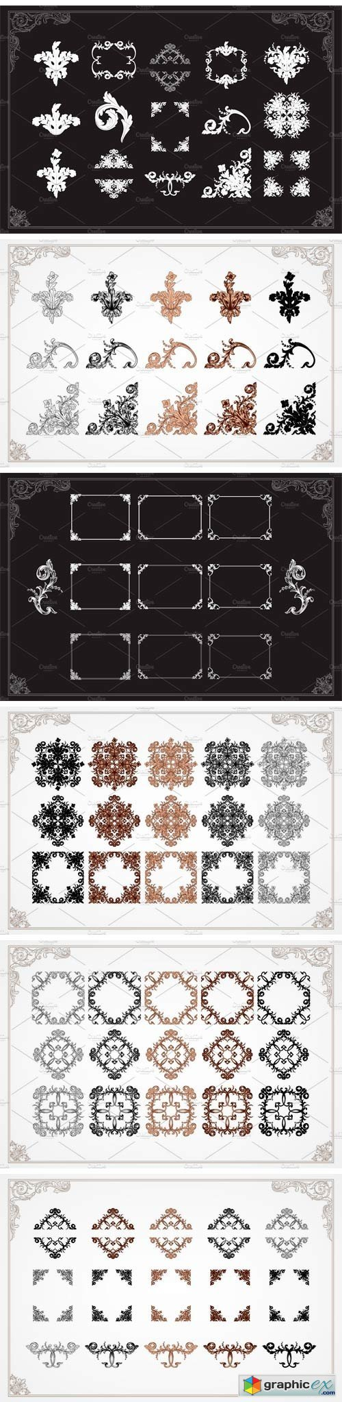 Ornament Elements for Decorate
