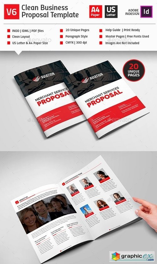 Clean Business Proposal Template V2