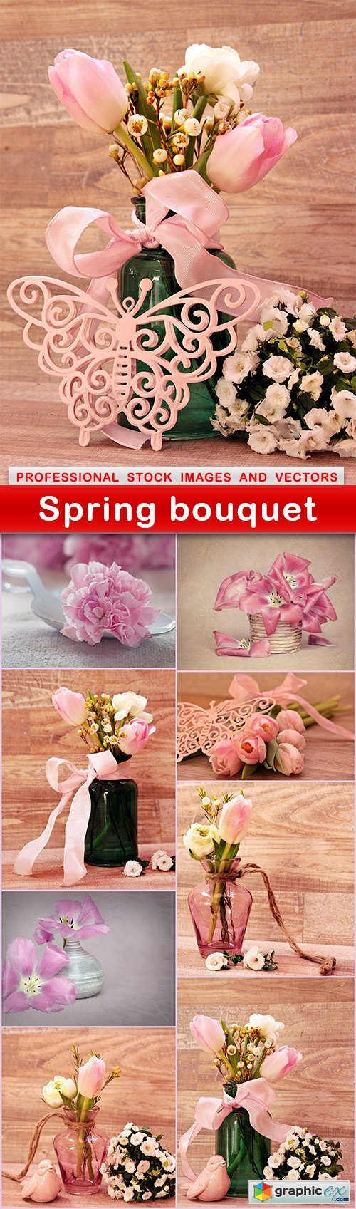 Spring bouquet - 9 UHQ JPEG