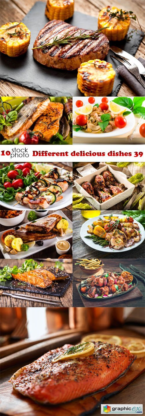 Different delicious dishes 39