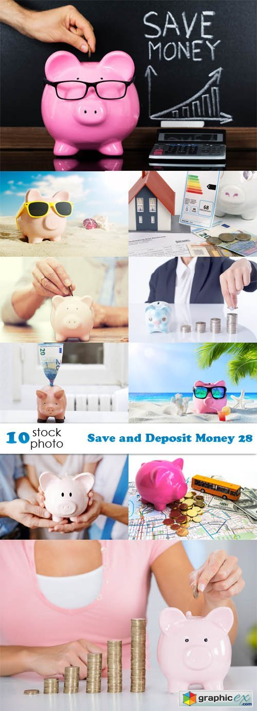 Save and Deposit Money 28