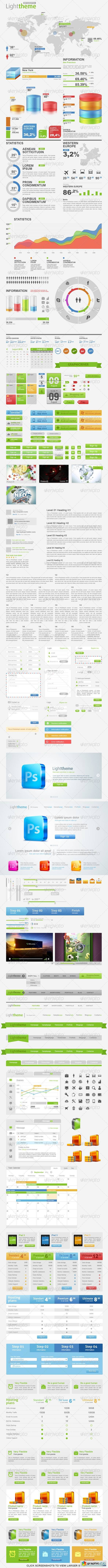 Light Theme Big Pack Web Constructor