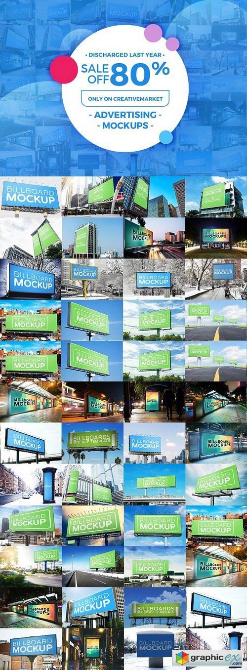 Billboards Mock-ups Big Bundle