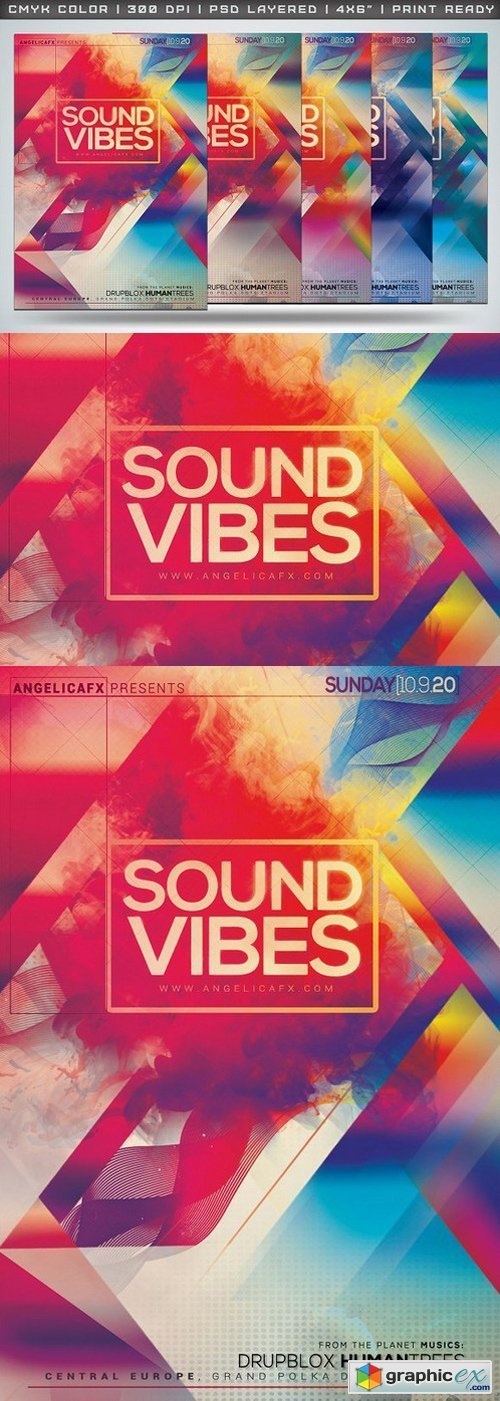 Sound Vibes Flyer Template