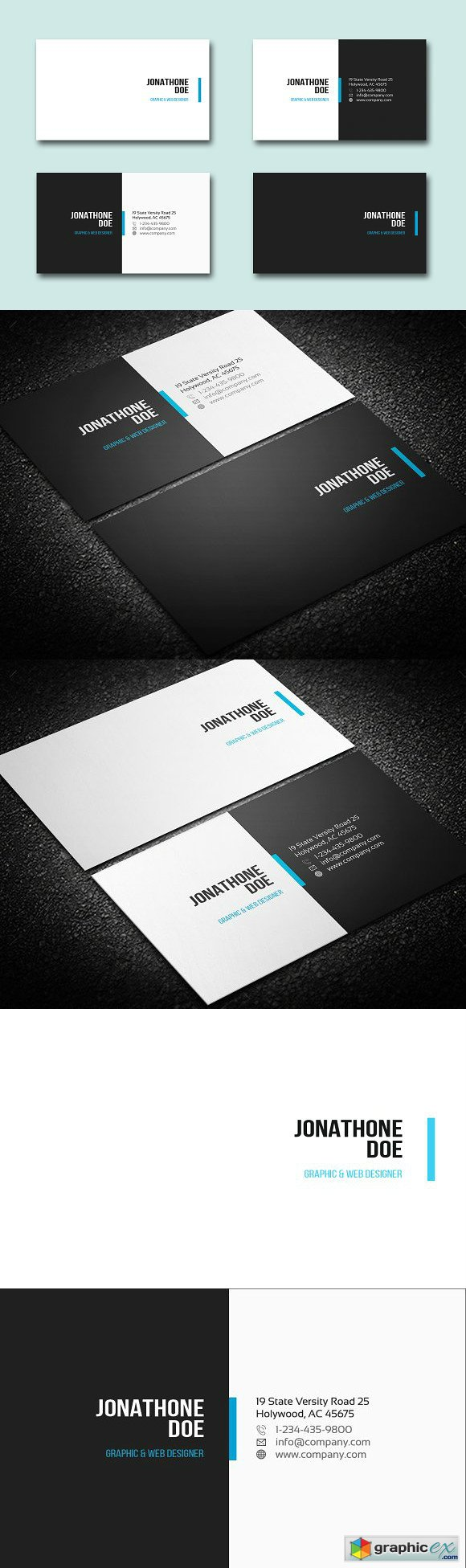 Simple Business Card 1266719