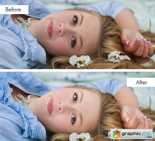 Pretty Presets - Perfect Portrait: Retouch & Makeup Brush Collection