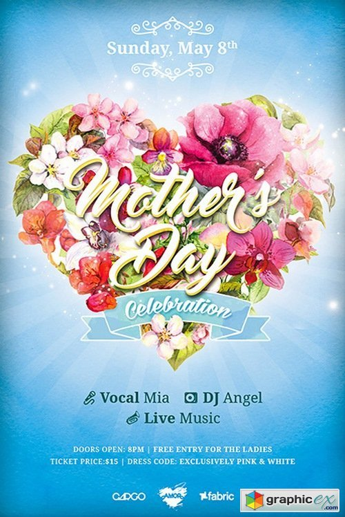 Mothers Day Celebration Template