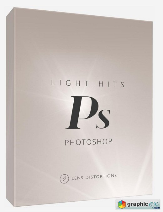 Photoshop Lens Distortions - Light Hits Actions + 30 Filters