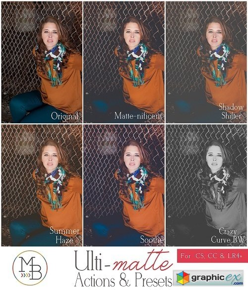 Morgan Burks Ulti-Matte Lightroom Presets