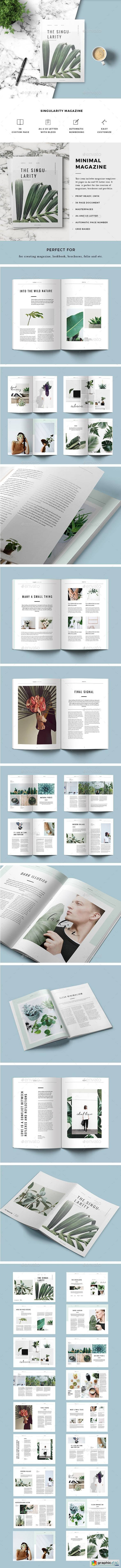 Brochure And Magazine - Free Download Vector Stock Image