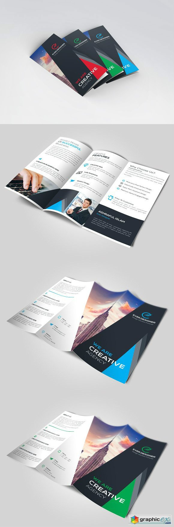Corporate Business Trifold 1349368