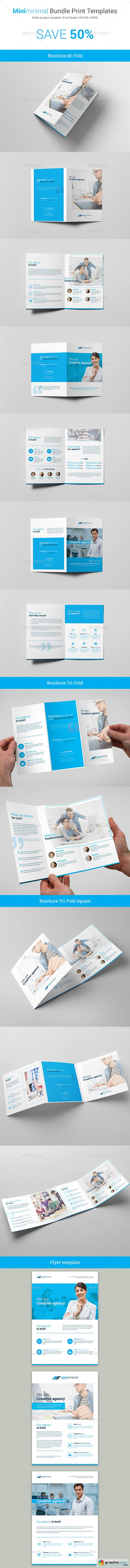 Miniminimal – Business Bundle Print Templates