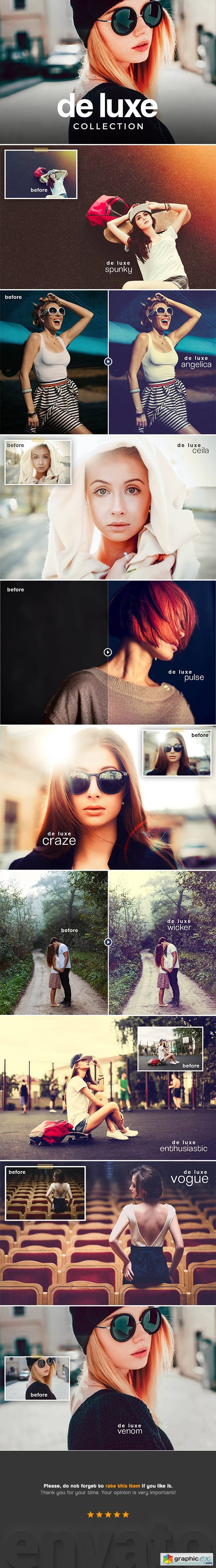 Graphicriver De Luxe Lightroom Presets