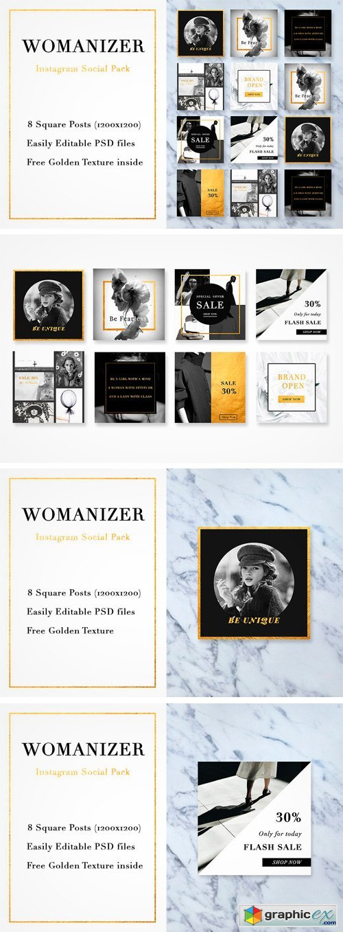 The Womanizer Social Media Pack