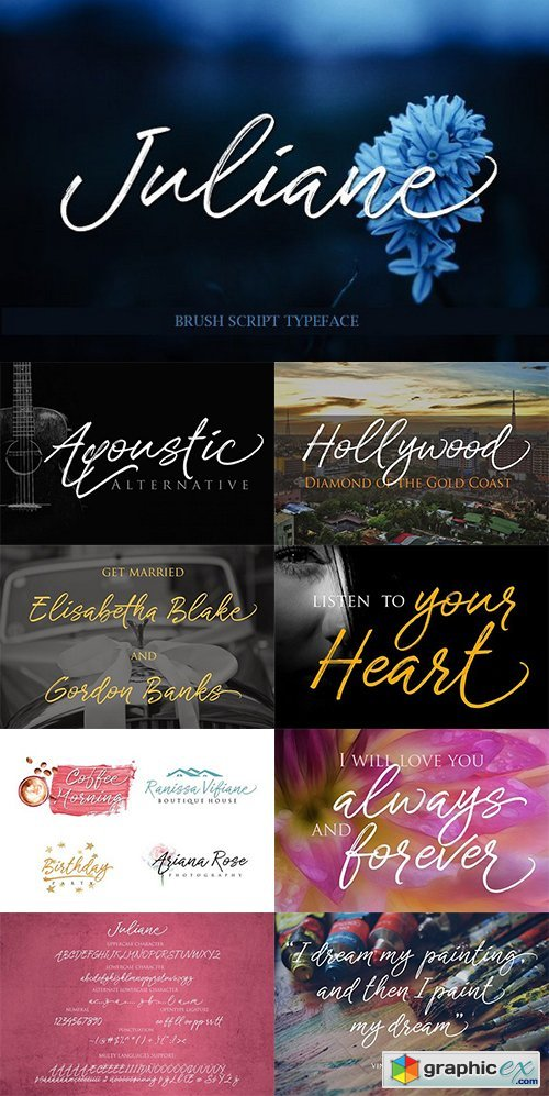 Juliane Brushscript