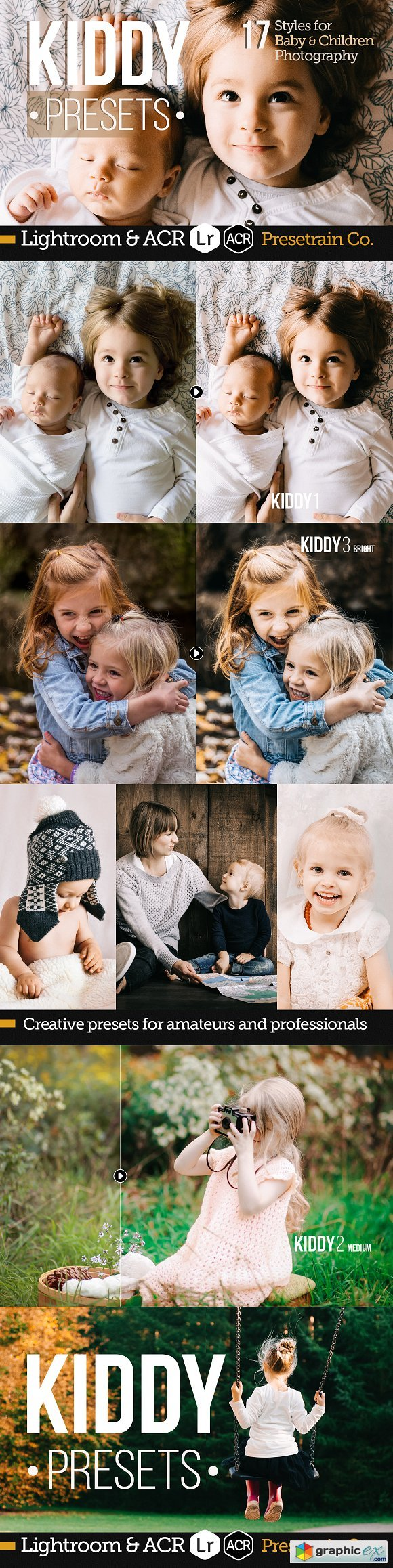 Kiddy - Baby Children Presets