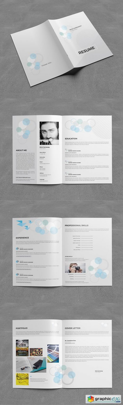 Resume Booklet (8 Pages) 1133748