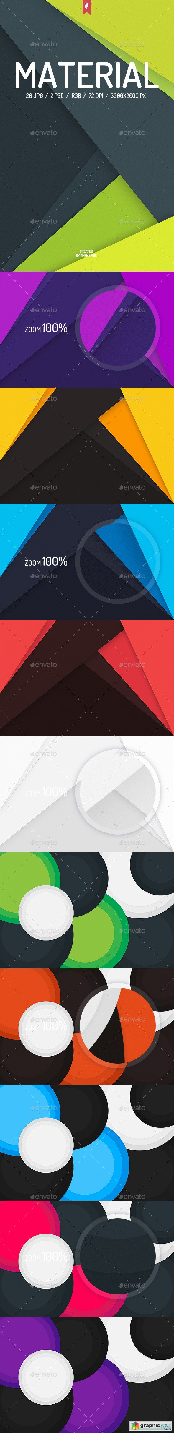 20 Material Design Backgrounds