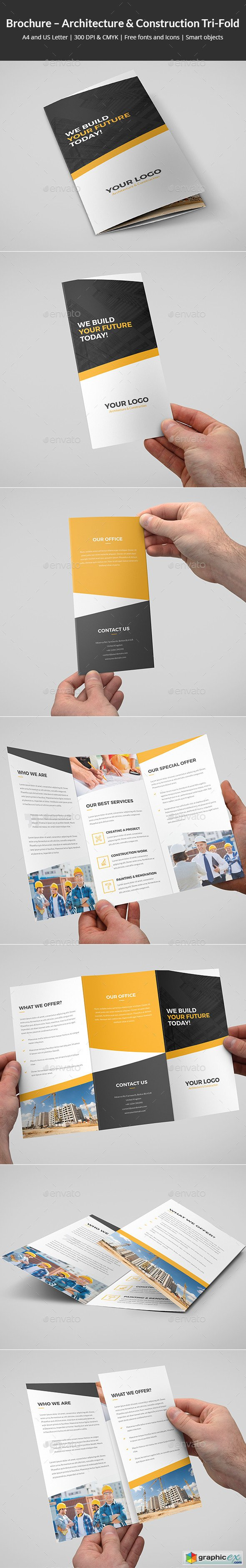 Brochure � Architecture and Construction Tri-Fold