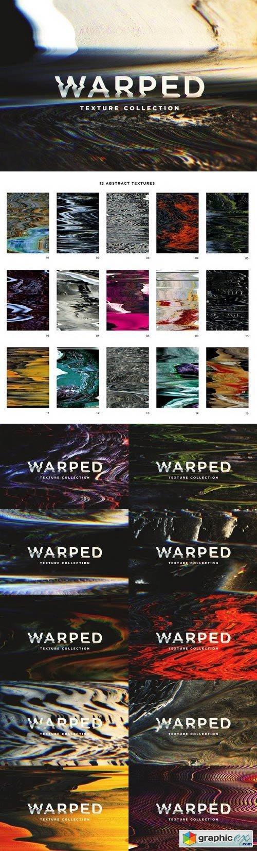Warped Textures (Extra Large)