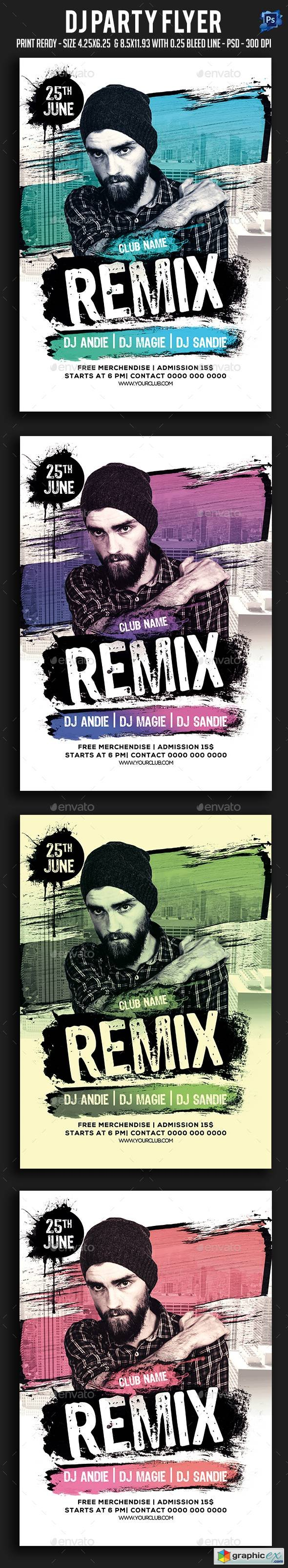 Graphicriver Dj Party Flyer 19746913