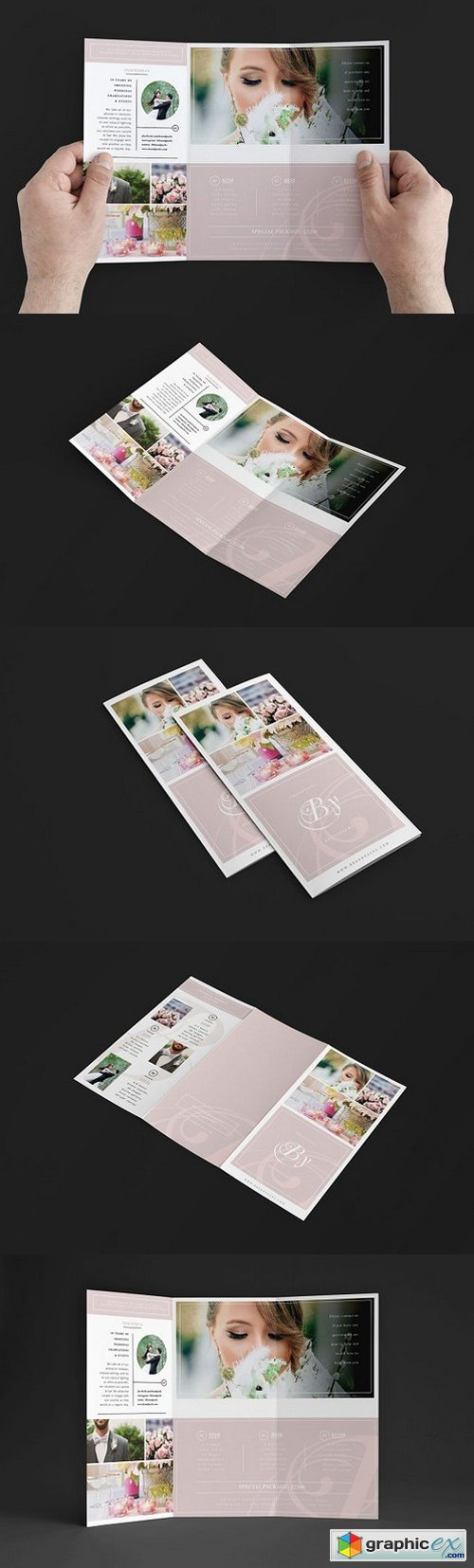 Wedding Photography Trifold Brochure 1346168