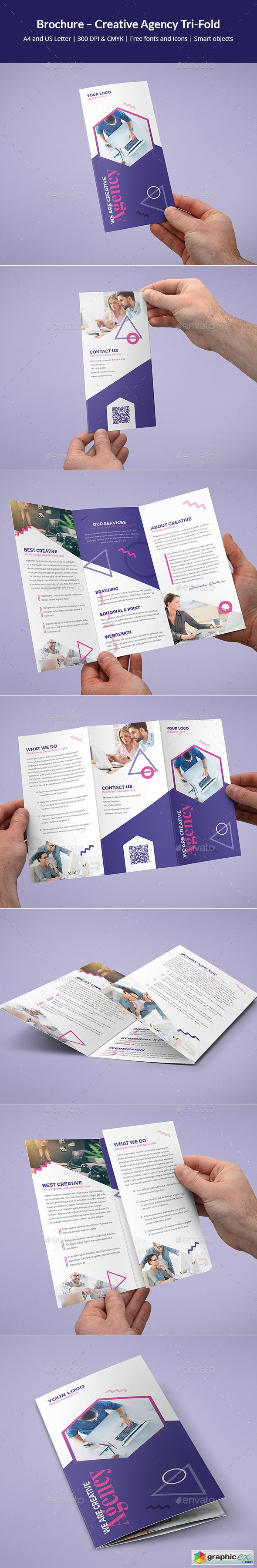 Brochure – Creative Agency Tri-Fold