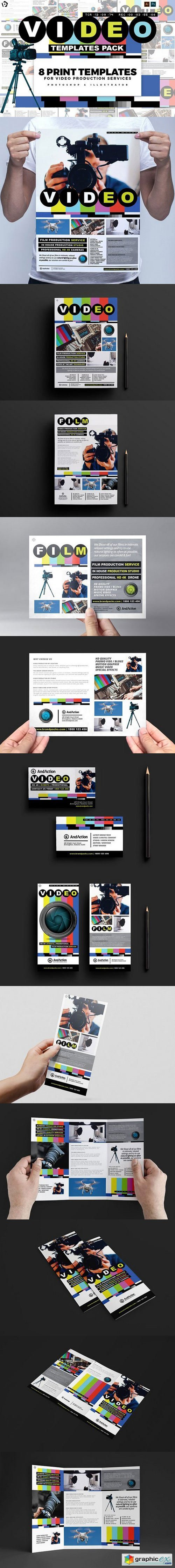 Videographer Templates Pack
