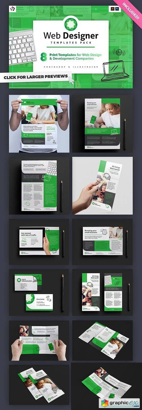 Web Designer Templates Pack