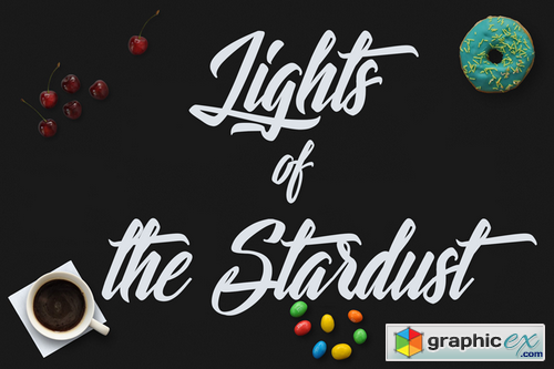 Lights of the Stardust Font