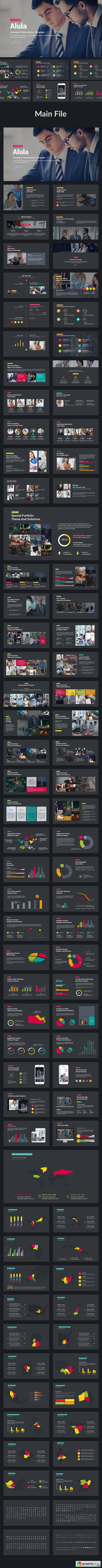 Alula - Business Powerpoint Template
