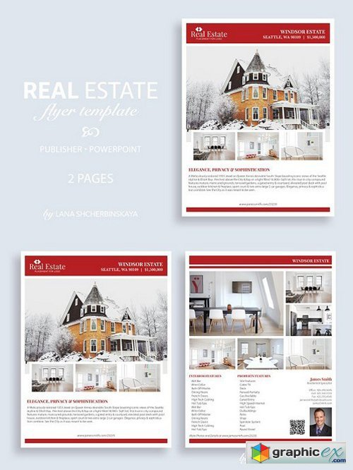 Real Estate Flyer Template No.10
