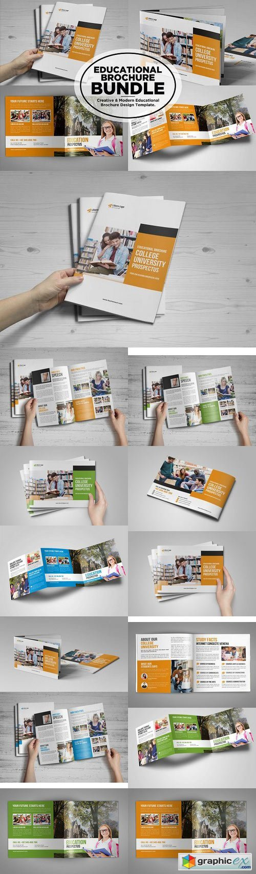 College University Prospectus Bundle