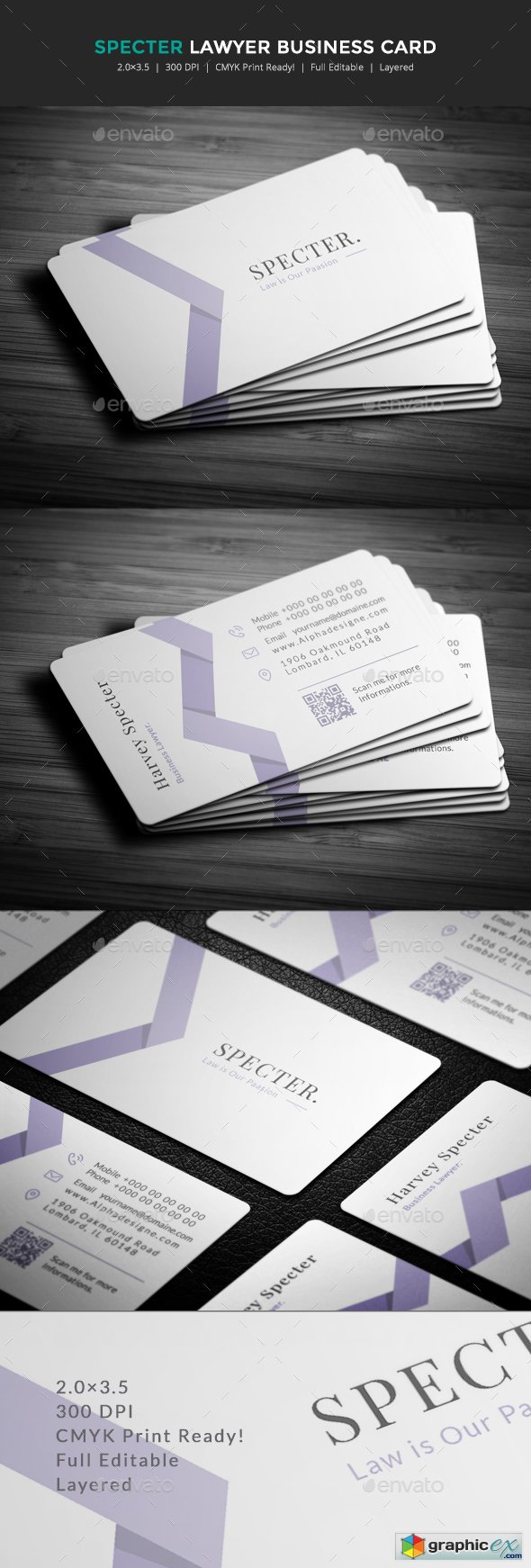 Specter lawyer business card free download vector stock image specter lawyer business card reheart Gallery